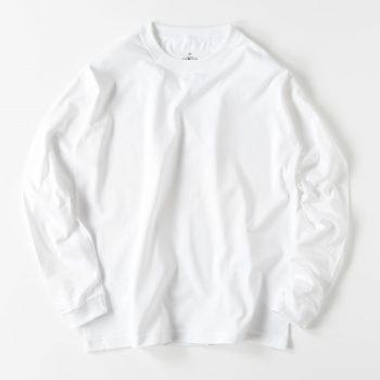 【メンズ】ロングスリーブ 袖リブTシャツ