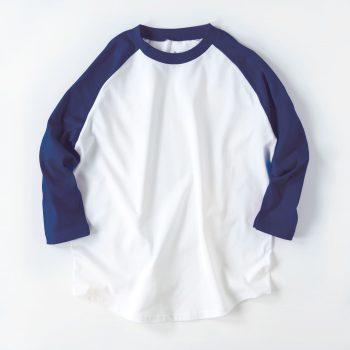 【メンズ】7分袖 ラグラン Tシャツ