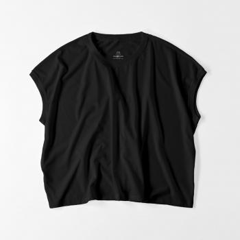 【レディース】スリーブレス ワイド Tシャツ