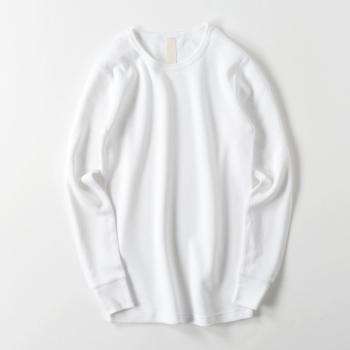 【メンズ】ワッフル ロングスリーブTシャツ