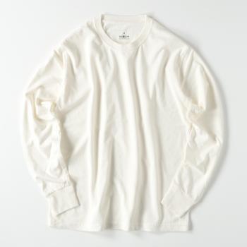 【メンズ】ピグメントダイ ロングスリーブ Tシャツ